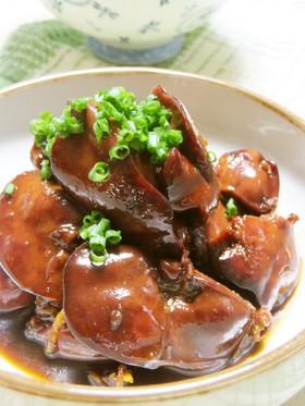 鉄分補給☆鶏レバーの甘辛煮☆生姜風味の画像