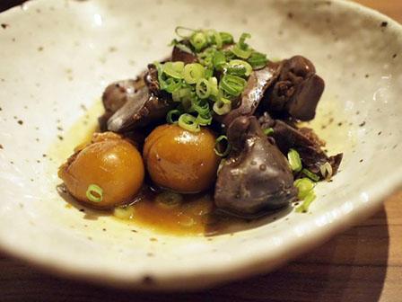 レバー甘辛煮の画像