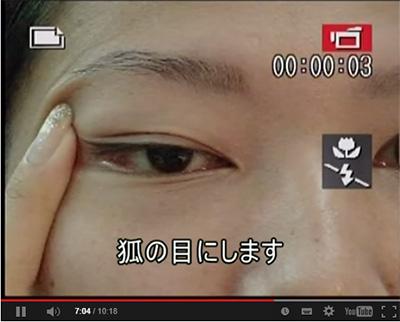 眼輪筋の運動の画像