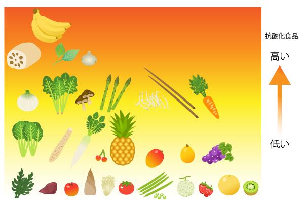 抗酸化食品の一覧の画像