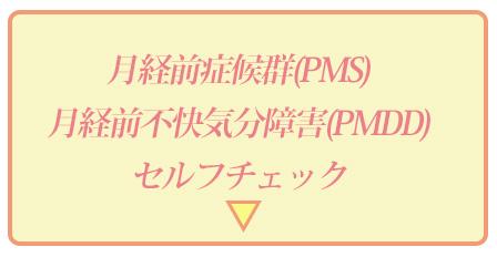 PMDDのセルフチェック画像