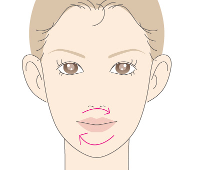 口紅オフ仕方の画像