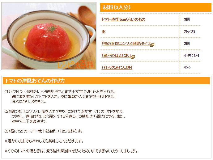 トマトレシピの画像