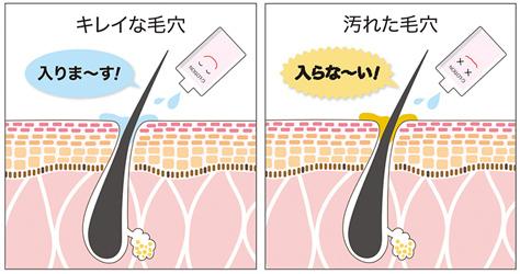 w洗顔の効果の画像
