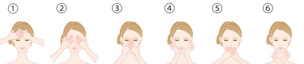 化粧水プレスの画像