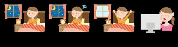 不眠のタイプの画像