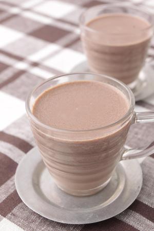 ミルクココア寒天の画像