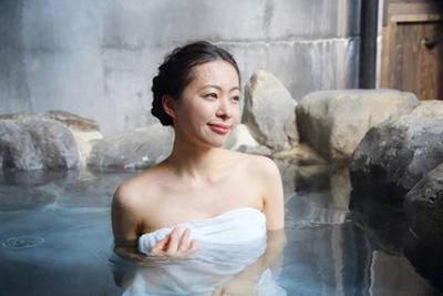 温泉の効果には相性があるの画像