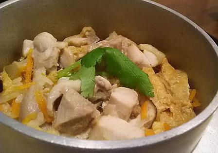 鶏炊き込みご飯の画像
