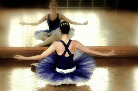 バレエ教室の画像