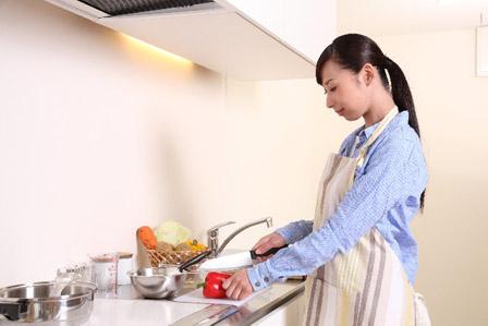 調理中の画像