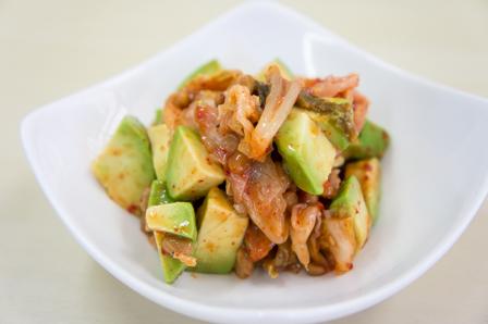アボカドキムチ納豆の画像