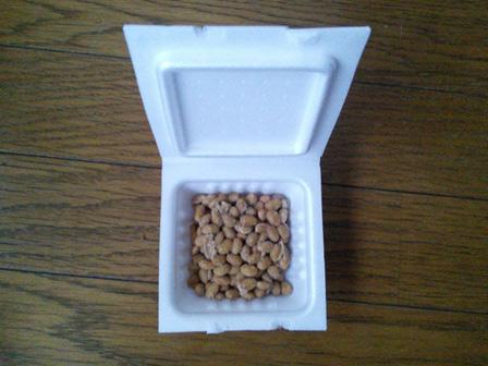 冷凍納豆の画像