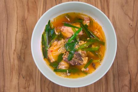 さばキムチスープの画像