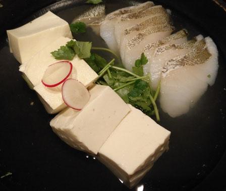 湯豆腐たらの画像