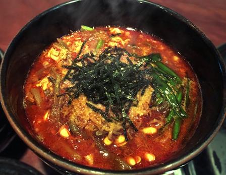 韓国風スープの画像