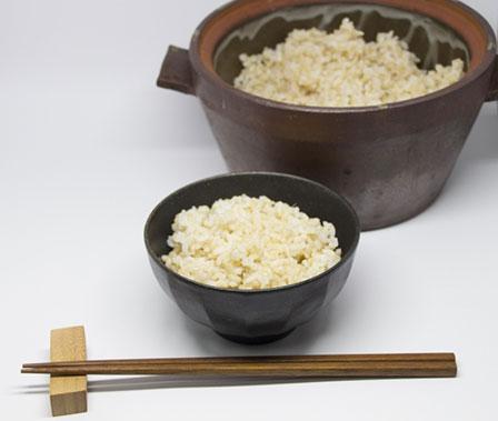 玄米たきかたの画像