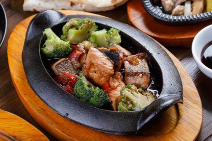 鮭ブロッコリーの画像