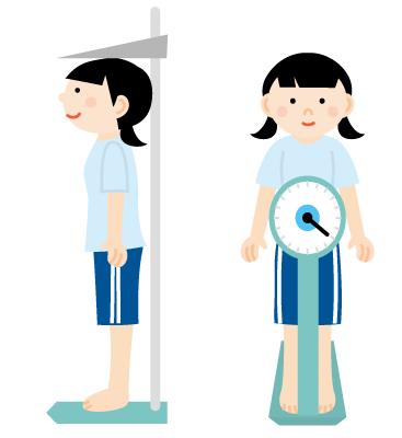身体測定の画像