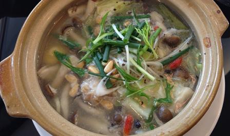 ささみの生姜スープの画像