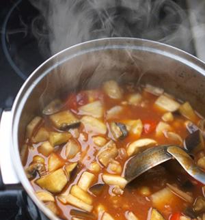 トマトスープの画像