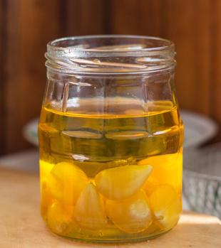 酢ニンニクの画像