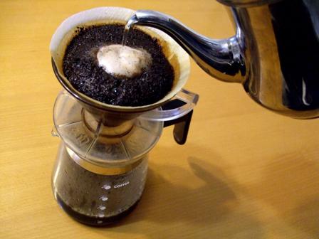 ドリップコーヒーの入れ方の画像