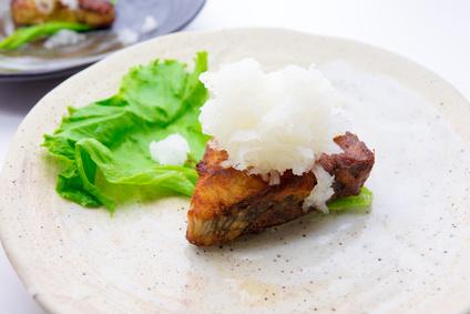 まぐろの和風ステーキの画像