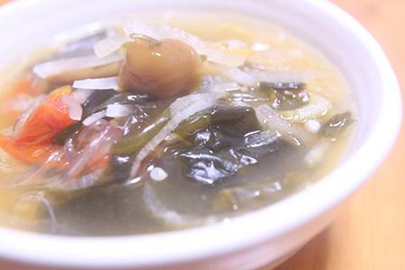 きのこの春雨スープの画像