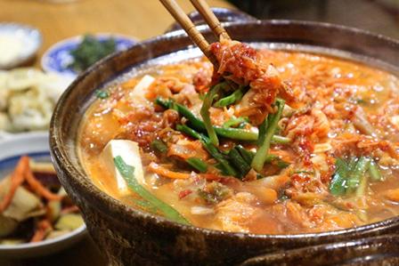 キムチスープの画像