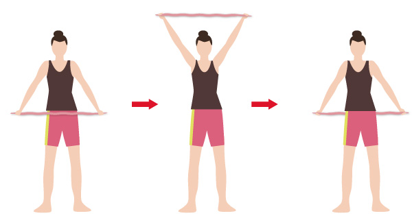 肩甲骨ストレッチゴムの画像