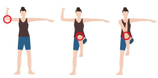 腸腰筋トレーンニングの画像
