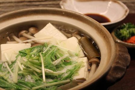 具たくさん湯豆腐の画像
