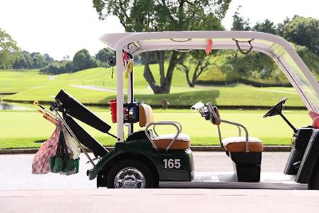 ゴルフカートの画像