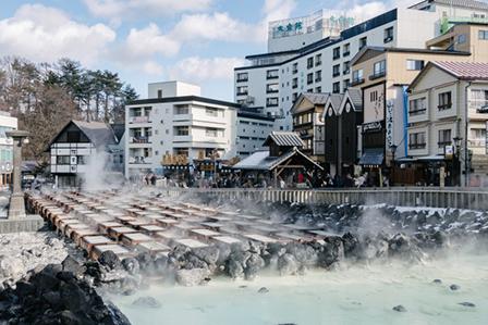 湯畑の画像