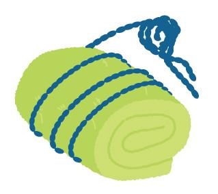 枕手作りの画像