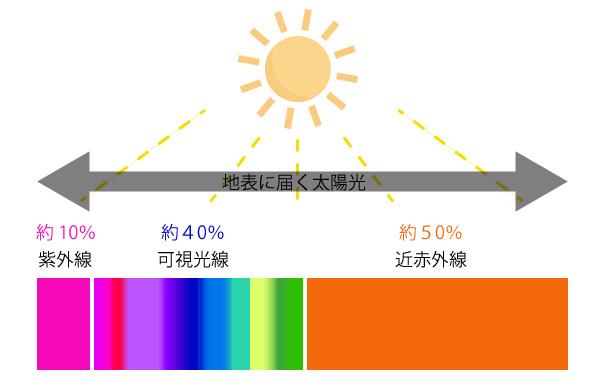 近赤外線の画像
