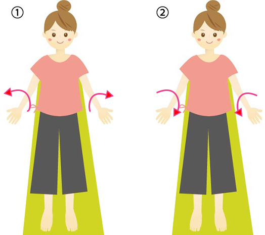 筋肉二の腕の画像