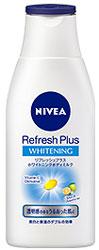 ニベア リフレッシュプラスホワイトニングボディミルクの画像