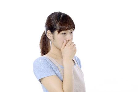 口臭の画像
