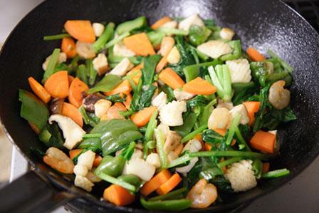野菜炒めの画像