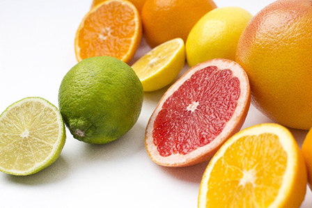 柑橘系の果物の画像