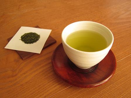 緑茶の画像