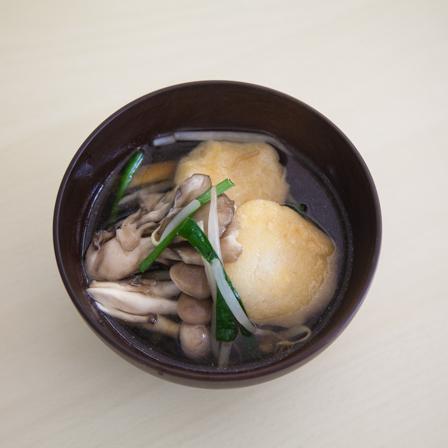おから団子スープの画像
