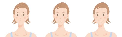 頬のエクササイズ1の画像