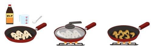 手羽先の甘酢煮の画像